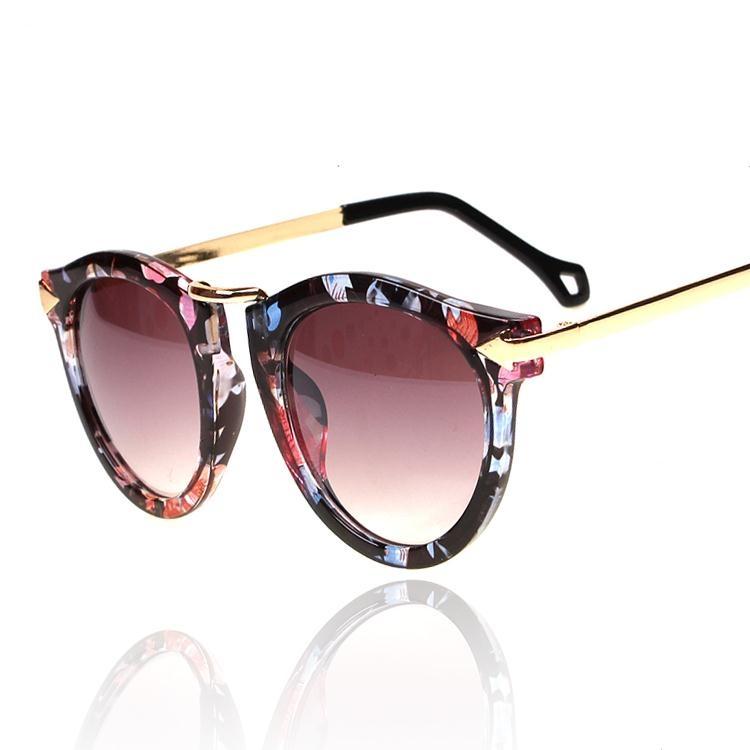 Vintage Flower Frame Sunglasses, $13.99