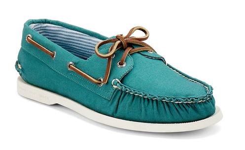 Men's Authentic Original Canvas Boat Shoe, $59.99