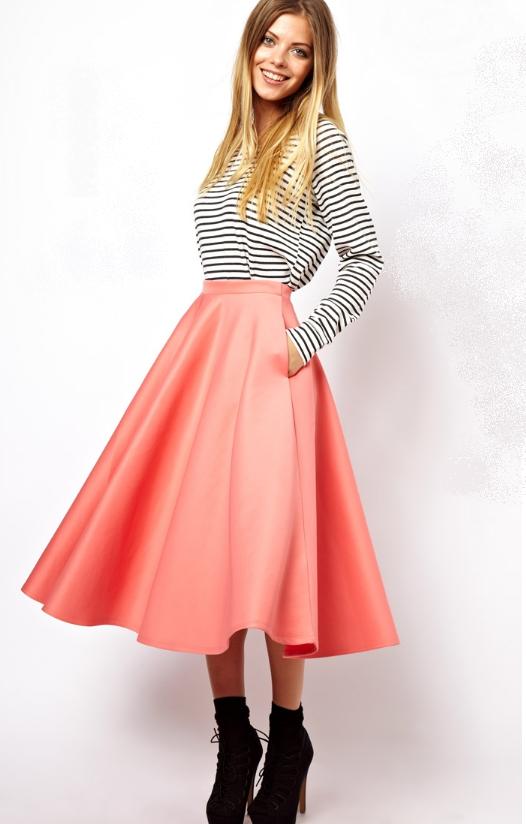 Full Midi Skirt, $64.13