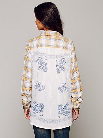 Behind the Flannel Buttondown, $128.00