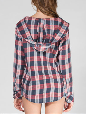 ROXY Foggy Shore Women's Hooded shirt, $43.99