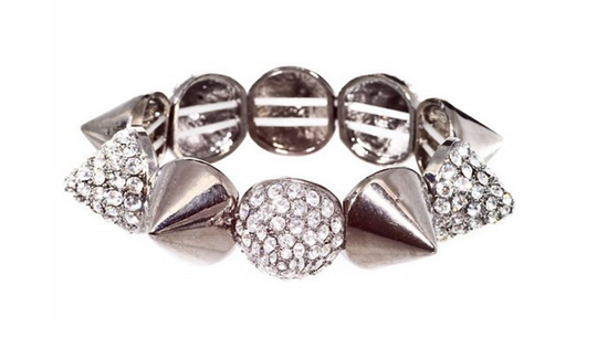 Sale $7, Spike Rhinestones Bracelets, 1 Hot Diva
