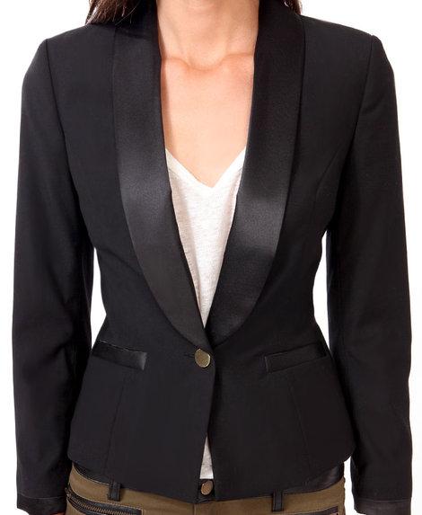 $37.80, Contrast Trimmed Blazer, Forever21