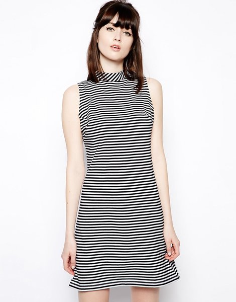 $41.39 Pop Boutique Sleeveless Swing Dress, Asos