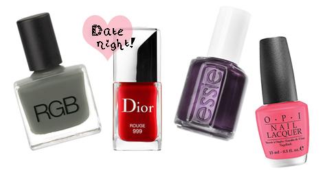 nail polish hues