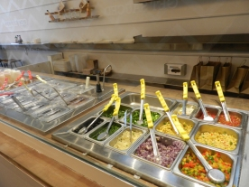 Fresh and yummy selections.