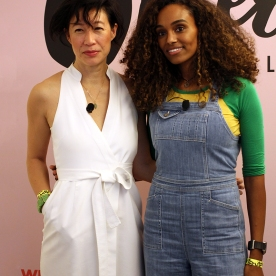 Karen Wong, deputy director of the New Museum and Gelila Bekele, activist and filmmaker.