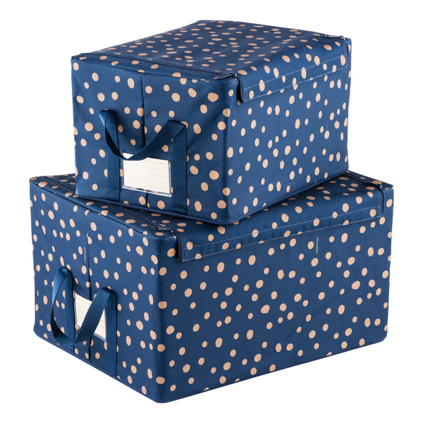 Reisenthel: Scattered Dots Fabric Storage Box, $15.99-$23.99