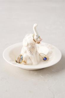 Anthropologie: Bathing Elephant Trinket Dish, $16