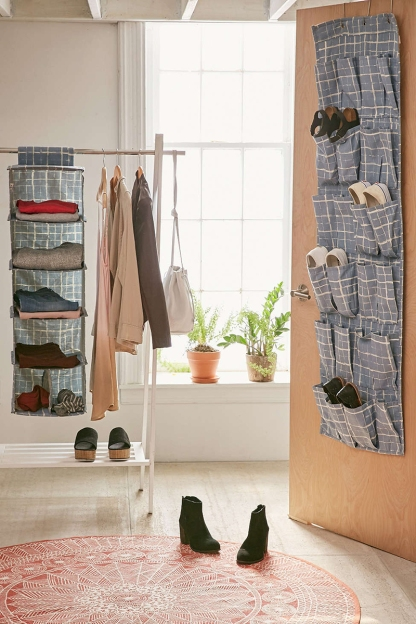 Urban Outfitters: Gridlock Hanging Shoe Rack, $19